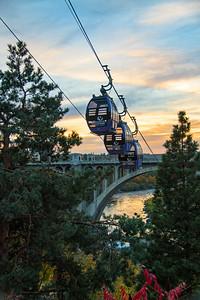 Gondola Sunset