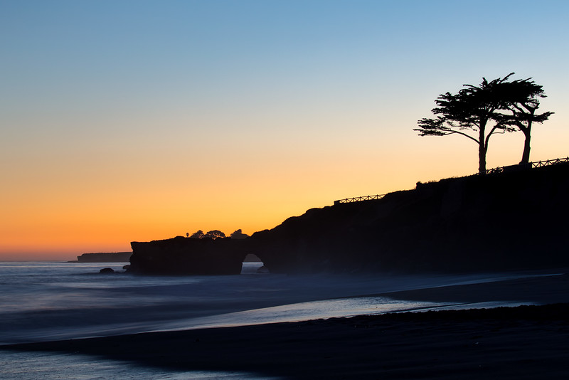 West Cliff Sunset