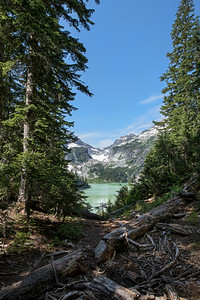 Blanca Lake Vertical