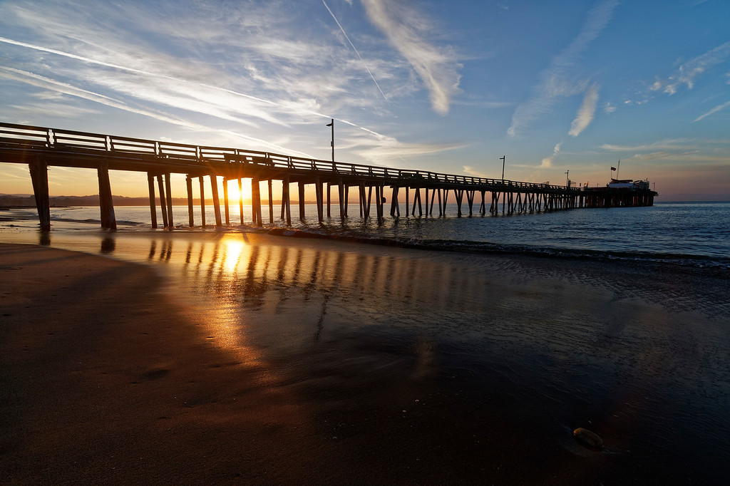 Capitola Beach Sunrise