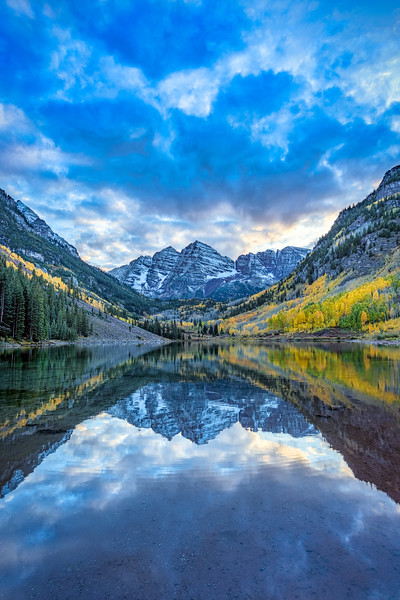 Maroon Bells, Study 3, Colorado