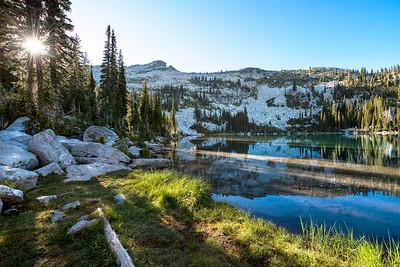Beehive Lakes Sunburst