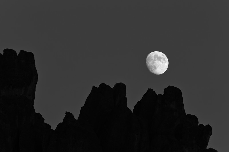 Full Moon over the Pinnacles