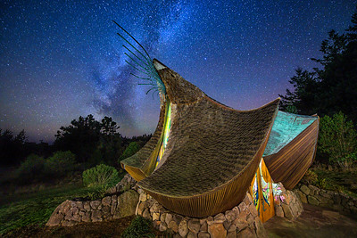Milky Way & Sea Ranch Chapel