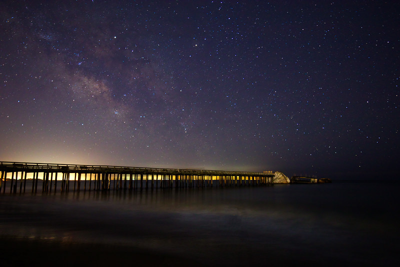 Seacliff Beach under the Stars