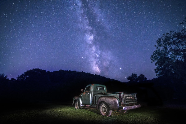 Aug 29  -  A starry Night  <br /> <br /> I finally had a chance to shoot the milky way!   Clear sky with no moon!