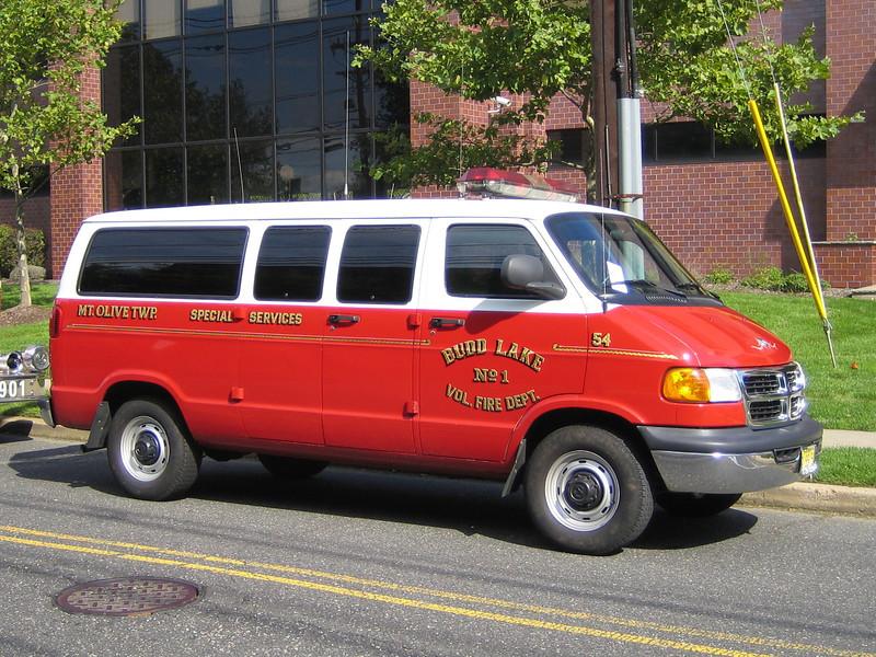 Mt Olive Budd Lake 54 Dodge van (ps)