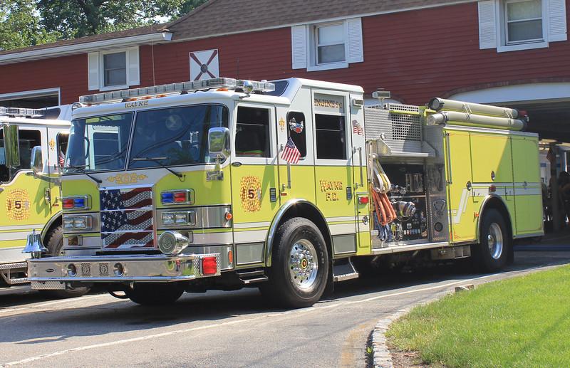 Wayne, NJ Packanack Lake E5-2 2006 Pierce Dash 1500gpm 500gwt 40gft CAFS
