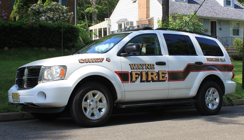 Wayne, NJ Preakness Fire Co #4 Dodge Durango