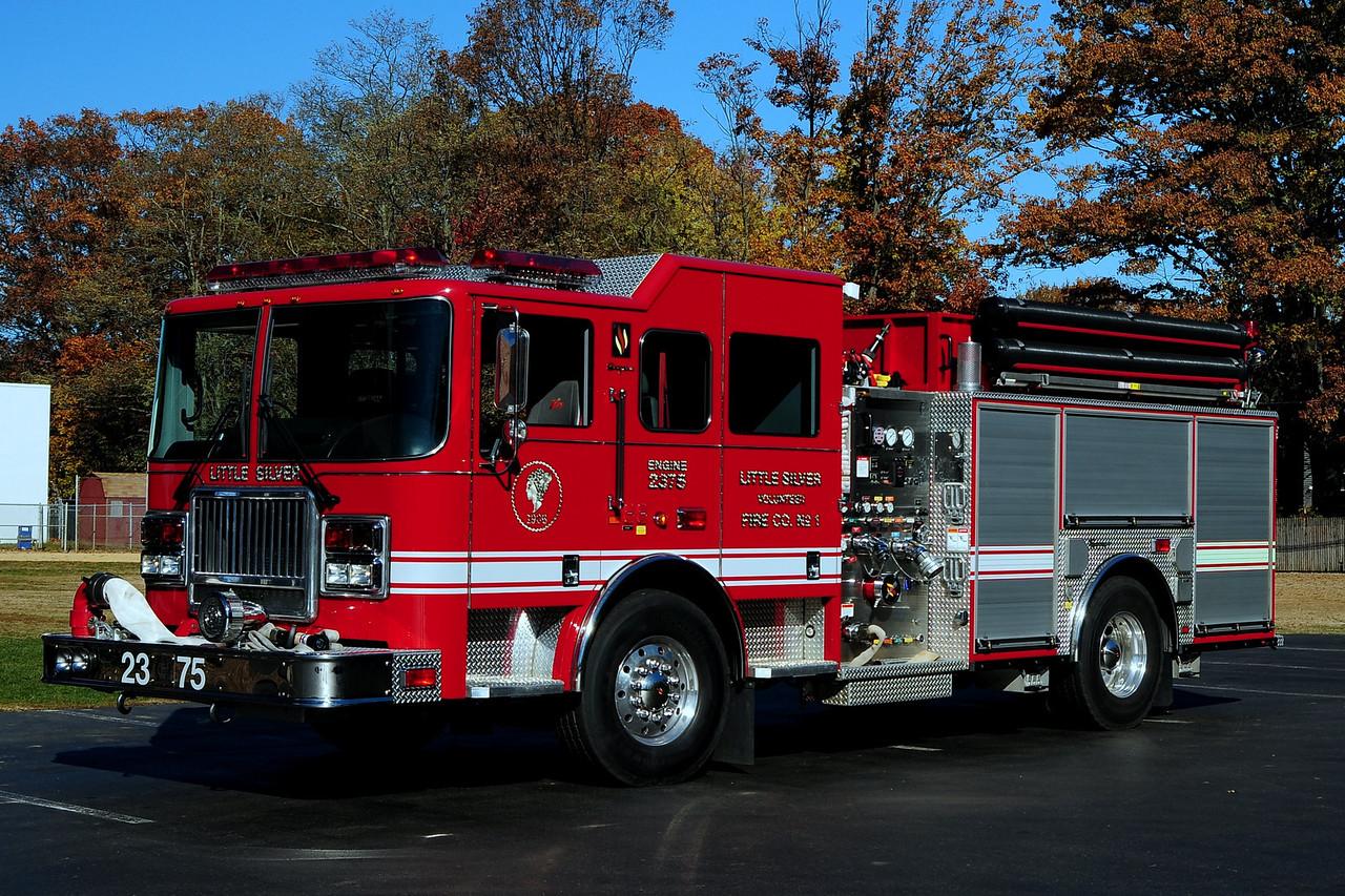 Little Silver Fire Dept  Engine 2375  Seagrave Attacker  1500/ 750