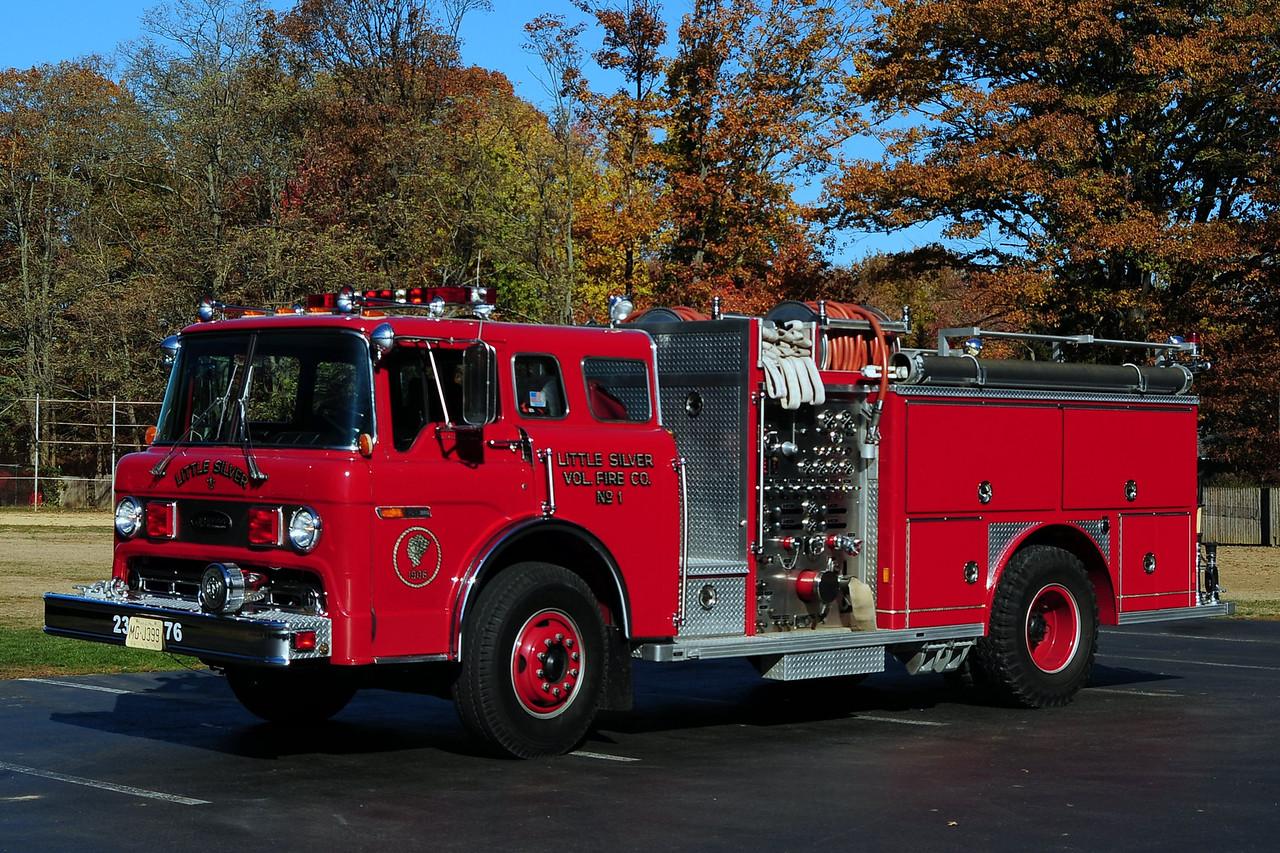 Little Silver Fire Dept  Engine 2376  1986  Emergency-Ome  1250/ 500
