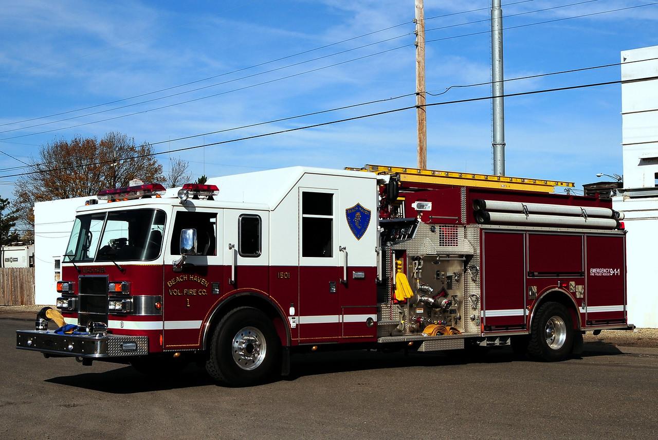Beach Haven Fire Dept  Engine 1501  2003 Pierce Lance  1500/ 1000/ 25