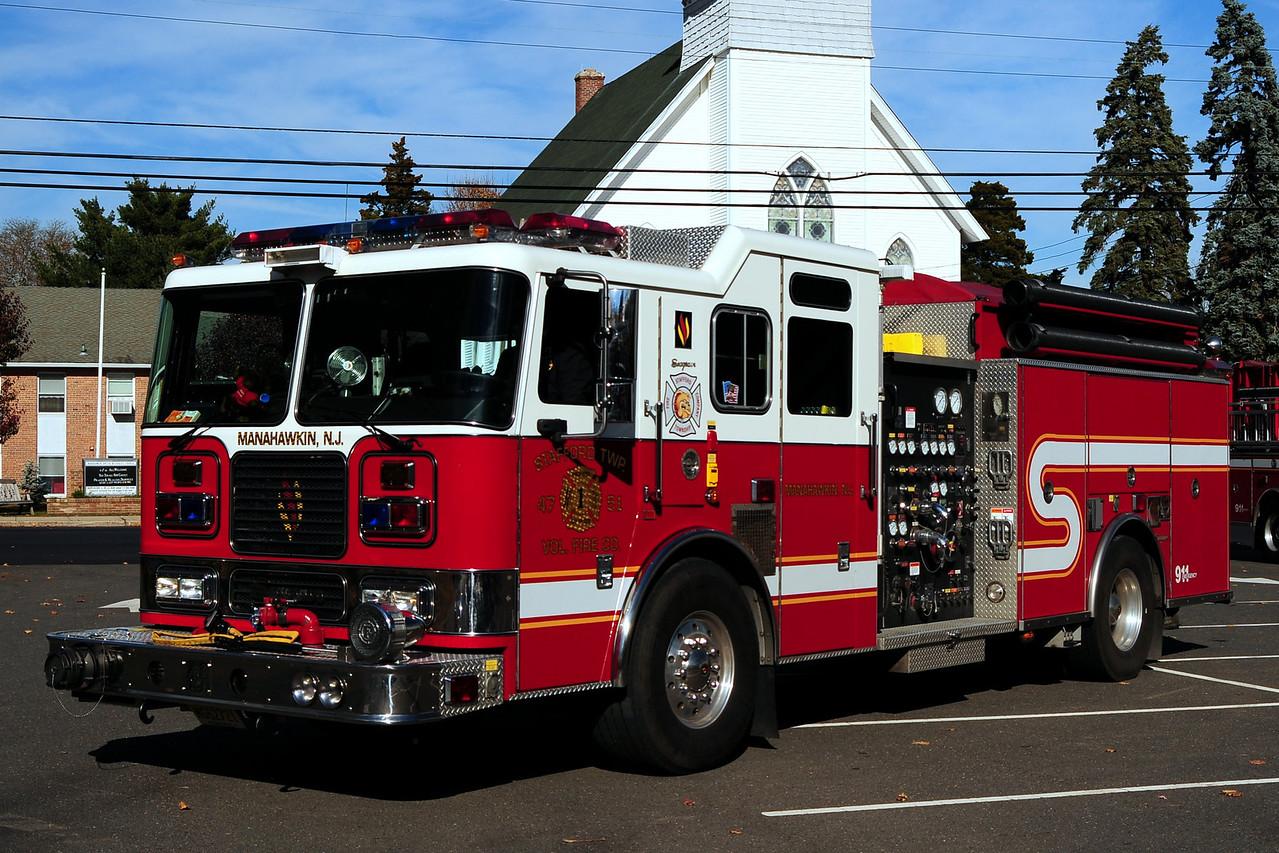 Manahawkin Fire Dept  Engine  47-51  2004 Seagrave  2000/ 1000