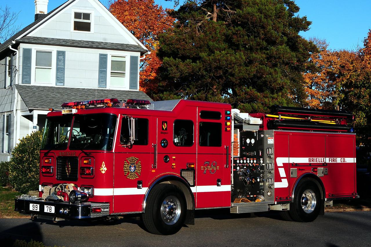 Brielle fire Dept  Engine  99-78  2003  Seagrave   1500/ 750