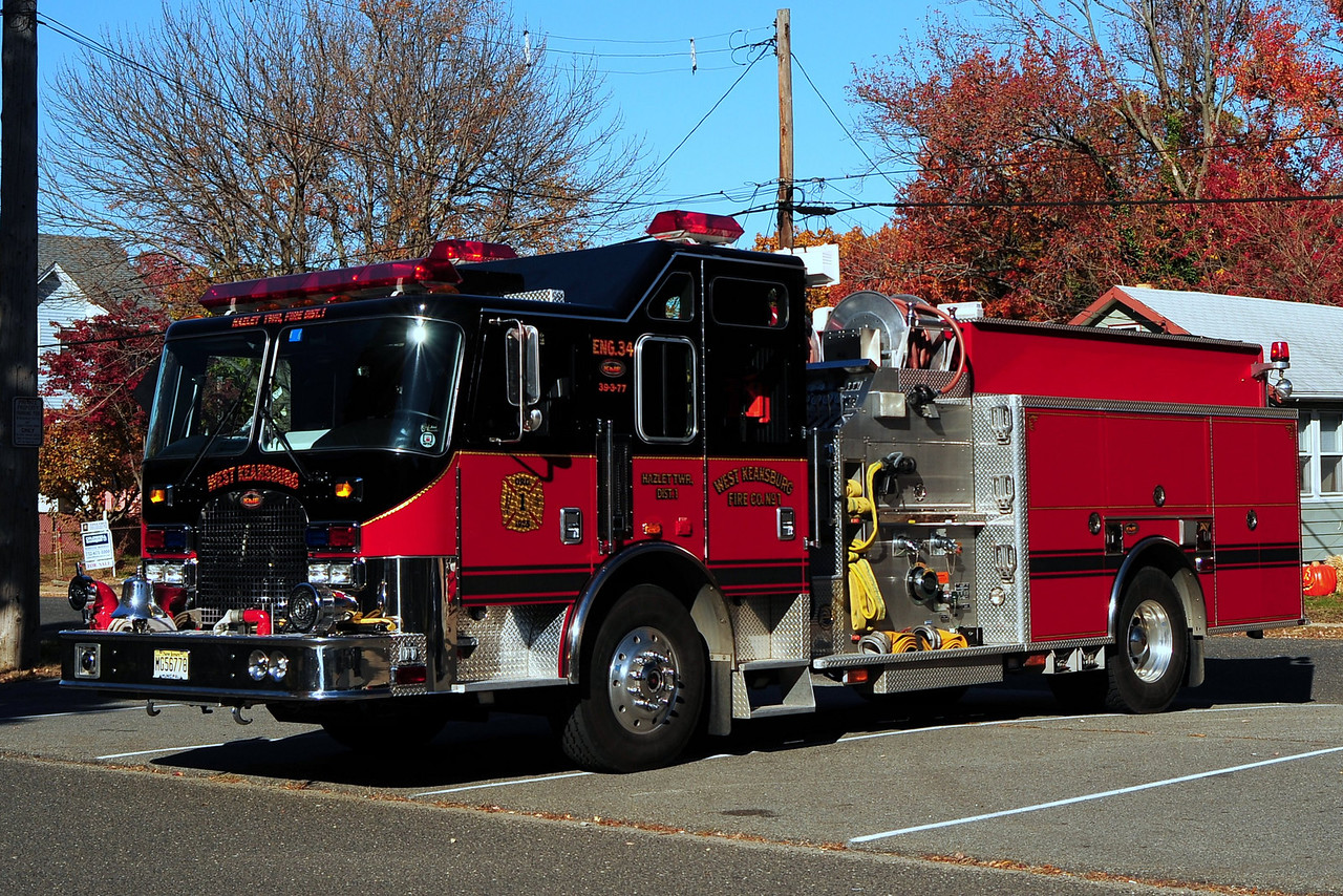 West Keansburg  Fire Dept  Engine  39-3-77 2003  KME Renegade  1500/750