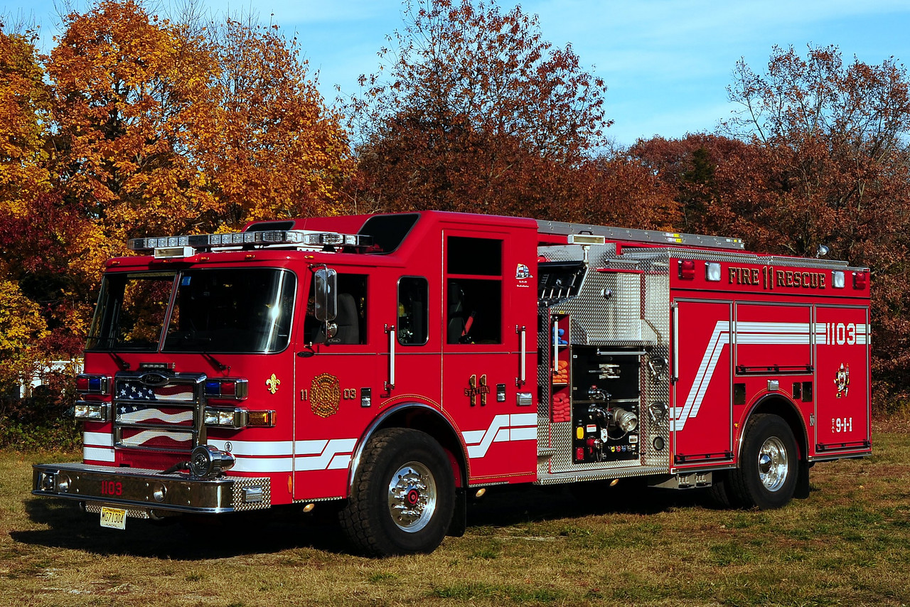 Barnegat Fire Dept  Engine  11-03  2006 Pierce Dash  1500/ 750/ 30