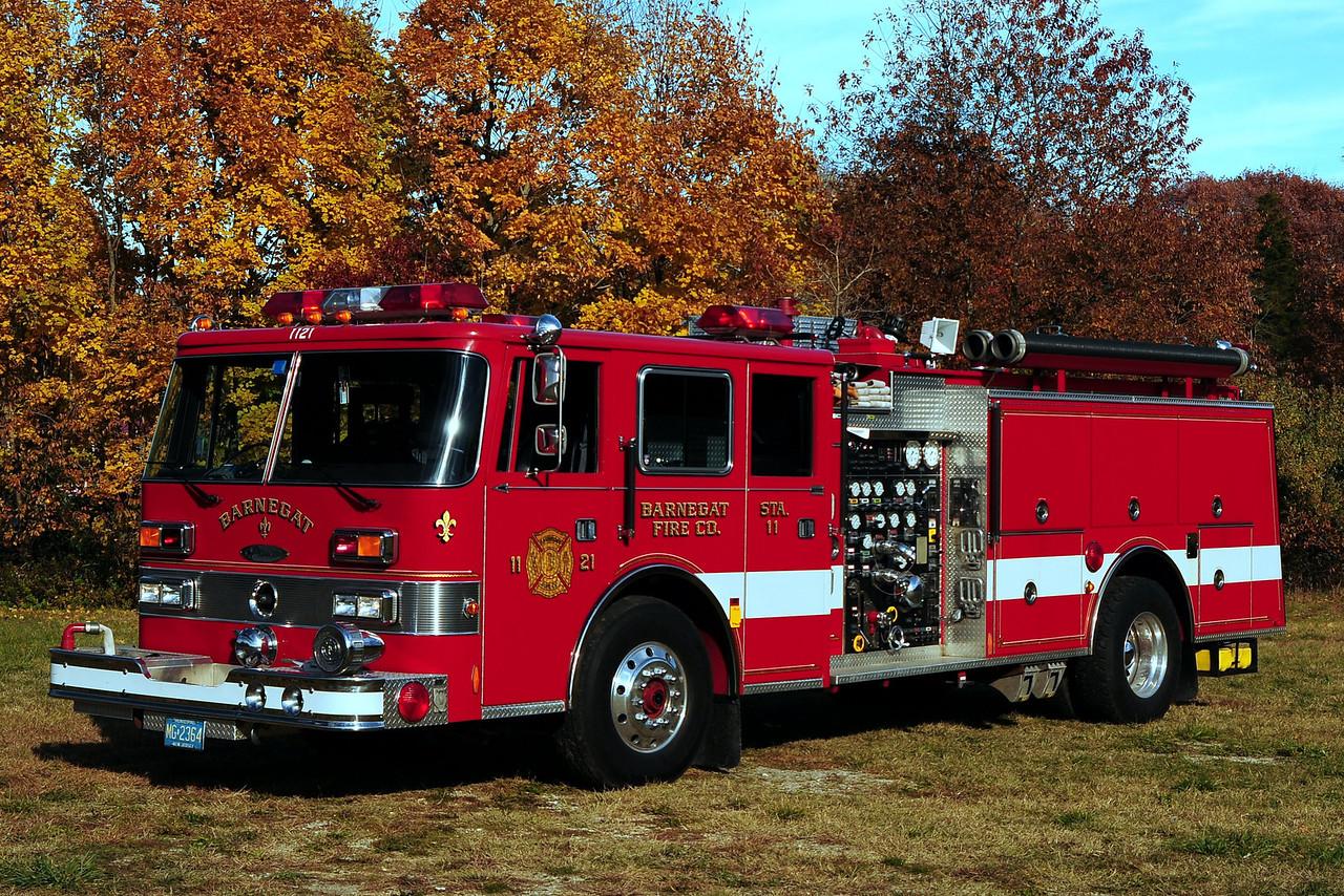 Barnegat Fire Dept  Engine 11-21  1992 Pierce Arrow 1250/ 1000
