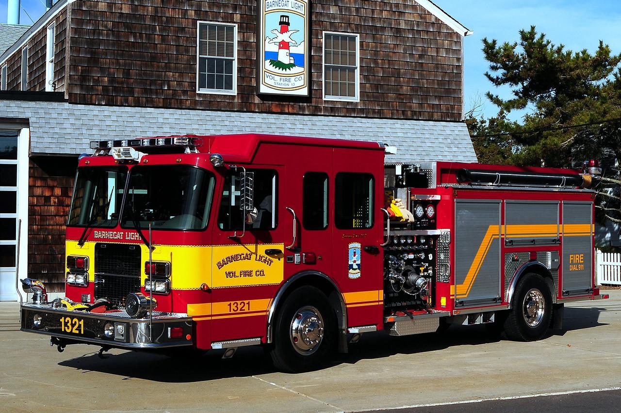 Barnegat Light Fire Dept  Engine 1321  2007 Spartan/ Ferrera  1500/ 750