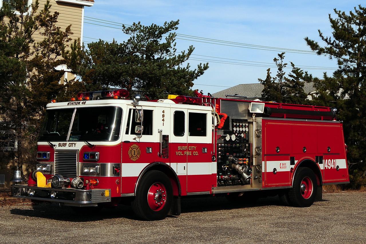 Surf City Fire Dept  Engine  4941  1991 Pierce  Lance  1250/ 750 /30