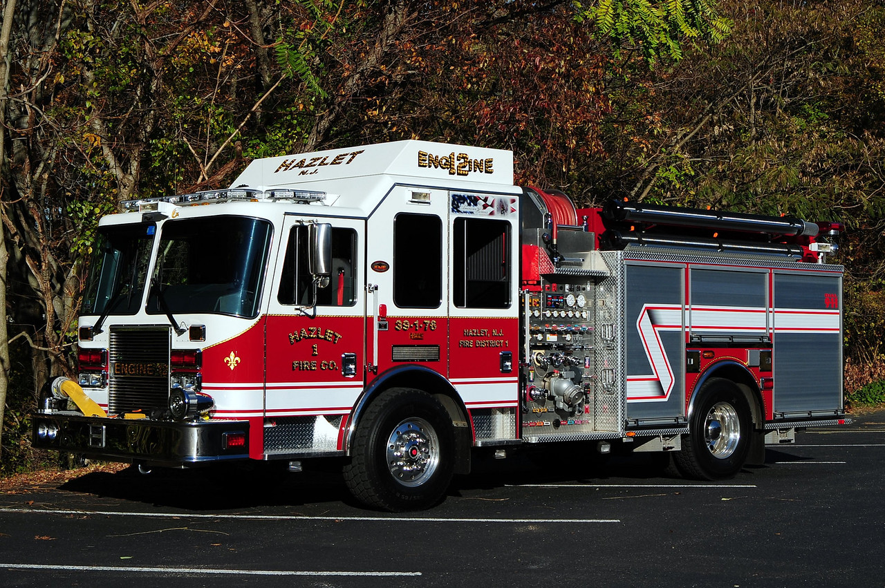 Hazlet  Fire Co # 2  Engine  39-1-76   Engine 12  2009 KME Predator  1500/ 750/ 50