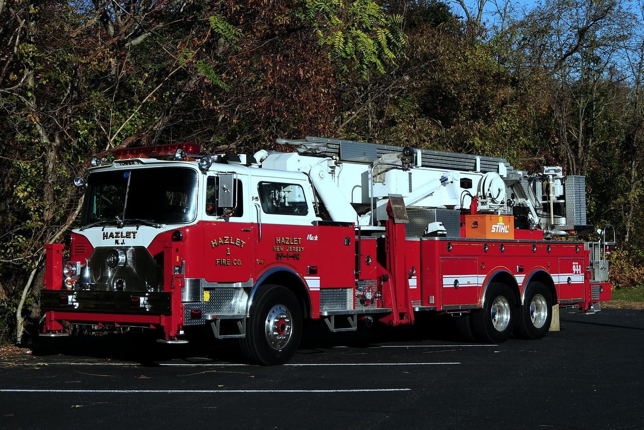 Hazlet Fire Co # 1   Ladder  39-1-90  1988 Mack CF/ Baker Aerialscope 75ft /  ITE refurb