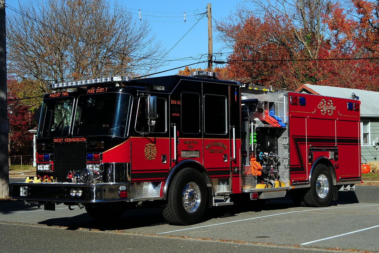 West Keansburg Fire Dept   Engine  39-3-76  2010 KME 2000/ 500