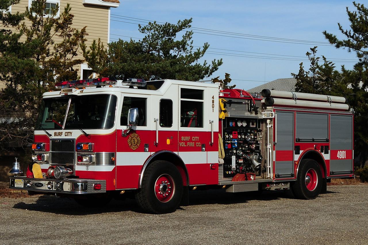 Surf City Fire Dept  Engine 4901  2004 Pierce Dash  1500/  750/ 35