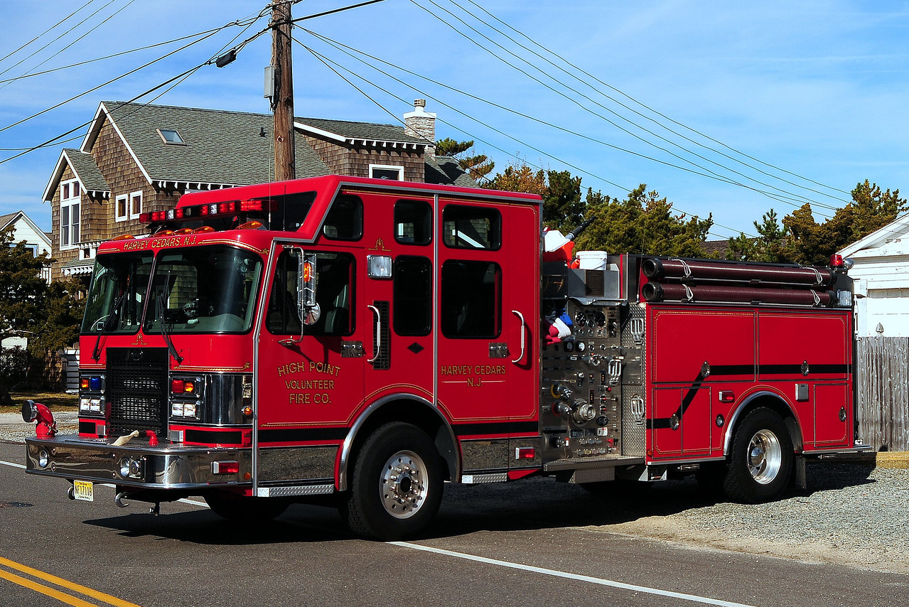 High Point Fire Co#1  Engine  5101  1999 Spartan/ S&S  1500/ 1000