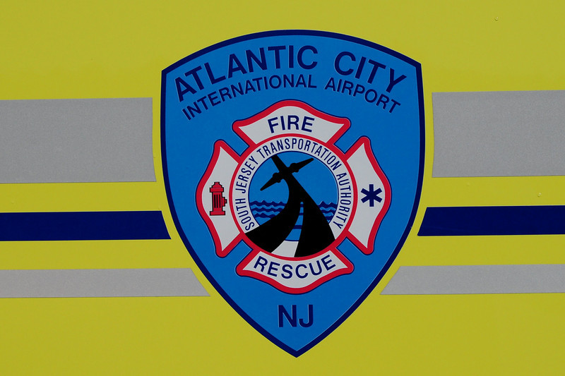 Atlantic City International Airport  Fire & Rescue  Emblem
