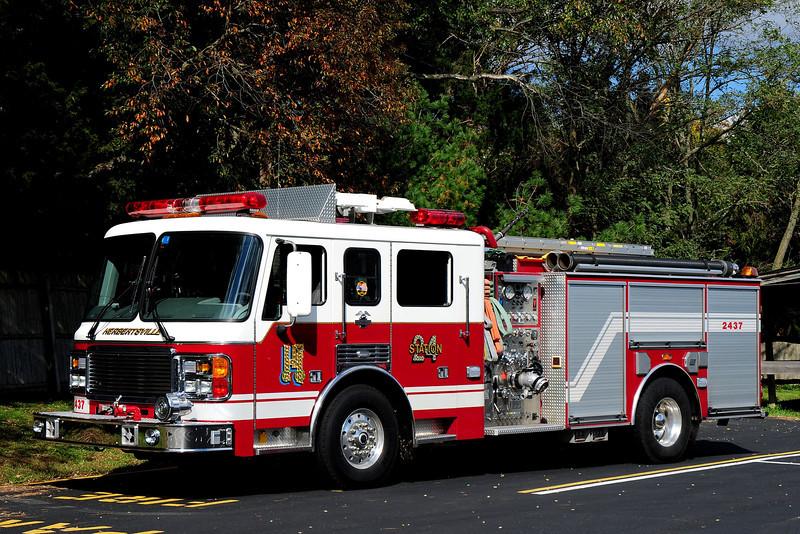 Herbertsville   Fire Co   Engine  2437  1999 American la France / LTI  1500 / 500/  50  Class a