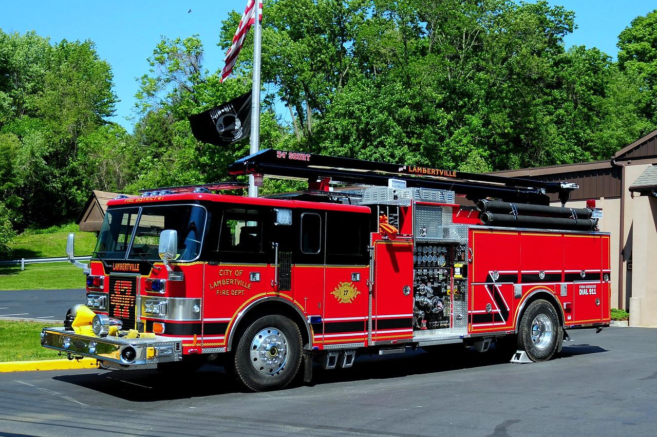 Lambertville, Fire  Dept   Squirt  17