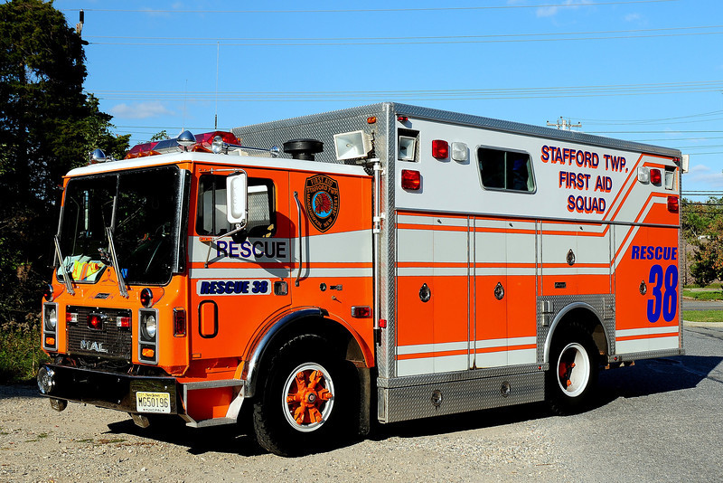 Stafford Twp  Rescue Squad    Rescue  38  1988 Mack  MC / Sanford