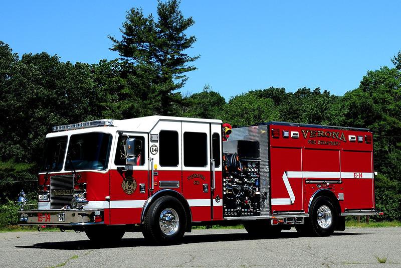 Verona, NJ   Engine 14  2011 KME Predator    1500/ 500
