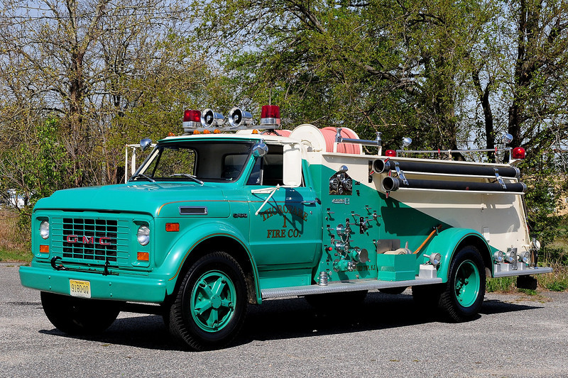 Thorofare Fire Co    Engine  613  1970  GMC C60 / Boardman  750/ 750