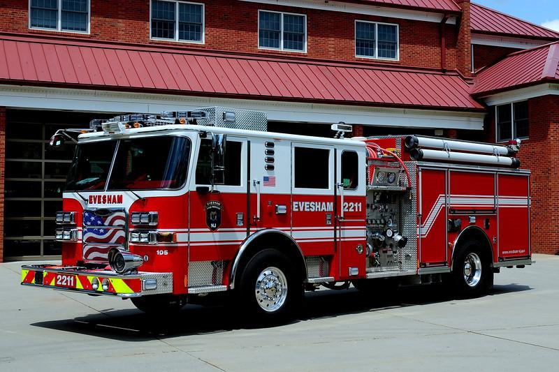 EVESHAM ENGINE 2211  2010 PIERCE ARROW XT 1500/750