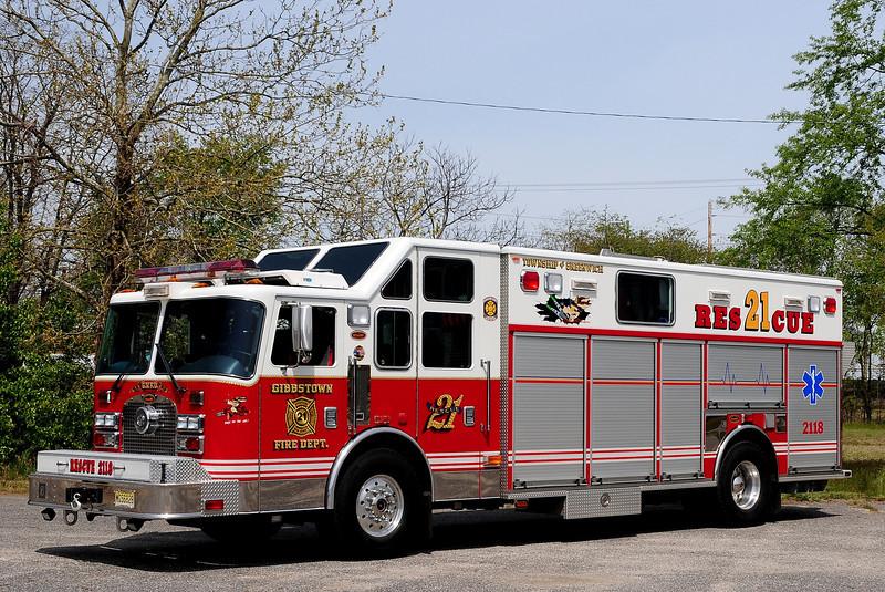 Gibbstown  Fire Co   Rescue  2118  2003 KME