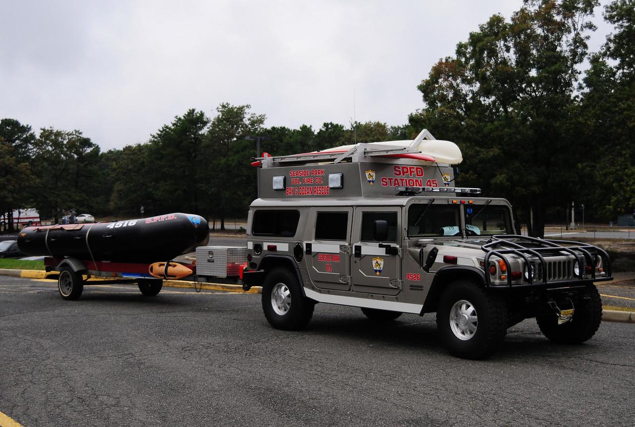 Seaside Park NJ  2001 American General Hummer  Water Rescue 4526