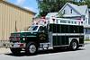 BEVERLY RESCUE 1218 - 1987 FORD F800/ PL CUSTOM  EX-WILLINGBORO EMERGENCY SQUAD
