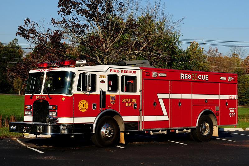Medford Fire Co     Rescue   2518   1998 KME
