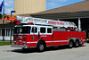 EVESHAM LADDER 2235  1993 SEAGRAVE 100ft rear mount