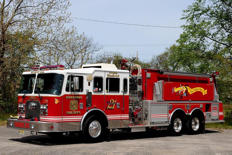 Gibbstown Fire Co   Tanker  2111  1997  KME 1500/ 3000
