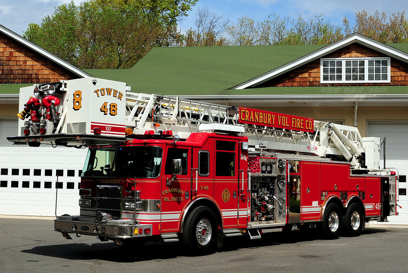 Cranbury Fire Dept   Twoer  48   2003 Pierce Dash  2000/ 300/ 100 Ft