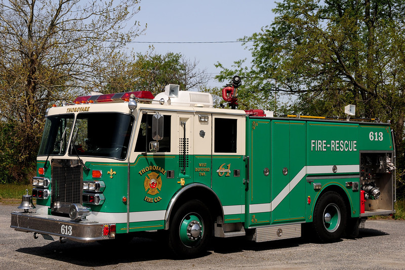 Thorofare Fire Co   Engine  613  1991 Simon Duplex/ Grumman  1750/ 750