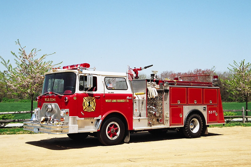WEST LONG BRANCH - ENGINE 53-77 - 1969/1985 MACK CF/RSI 1000/500