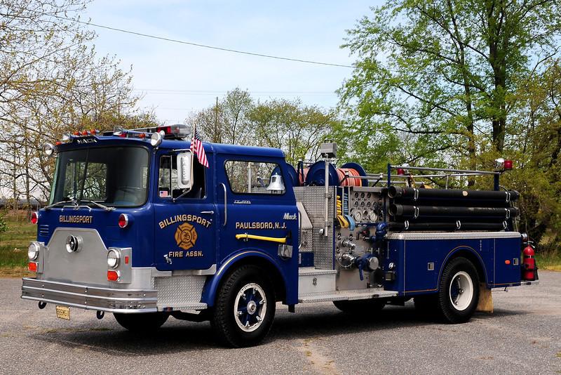 Billingsport Fire Assoc    Engine  1722   1976 Mack CF  1000/ 500