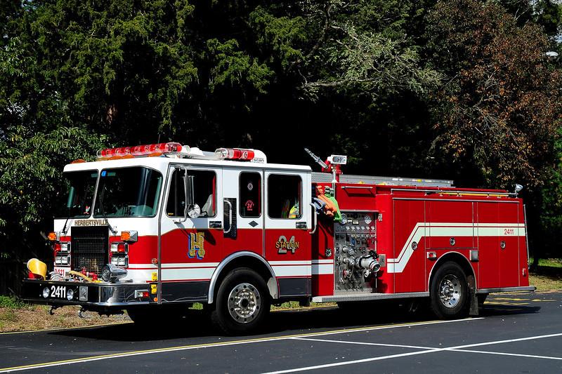 Herbertsville Fire Co  Engine  2411  1994 Spartan / Custom Fire   1500 / 500/ 30 class A