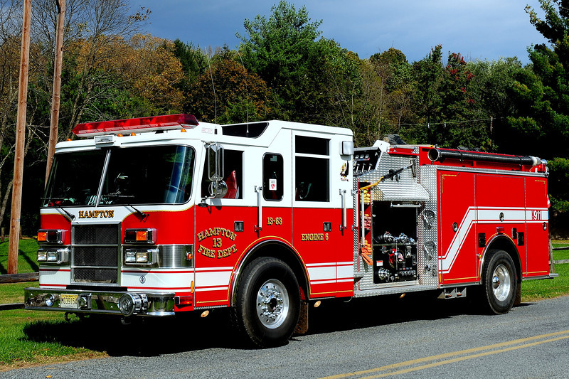 Hampton Fire Co  Engine 6  2000  Pierce Dash  1500 /1000