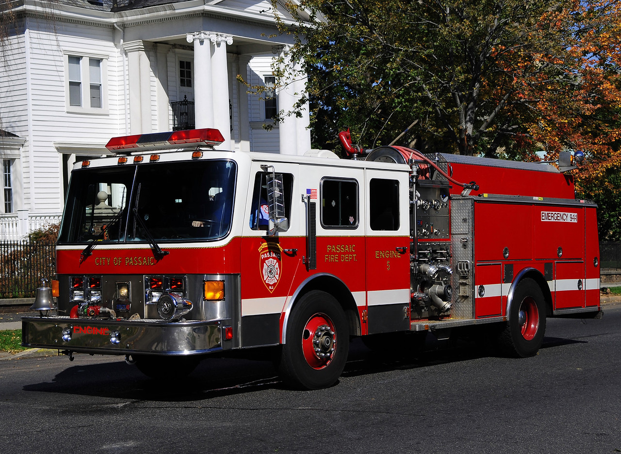 Passaic Engine 5    1991 Ottowa Beck 1500/750 (Formerly Engine 2) Now Reserve Rig