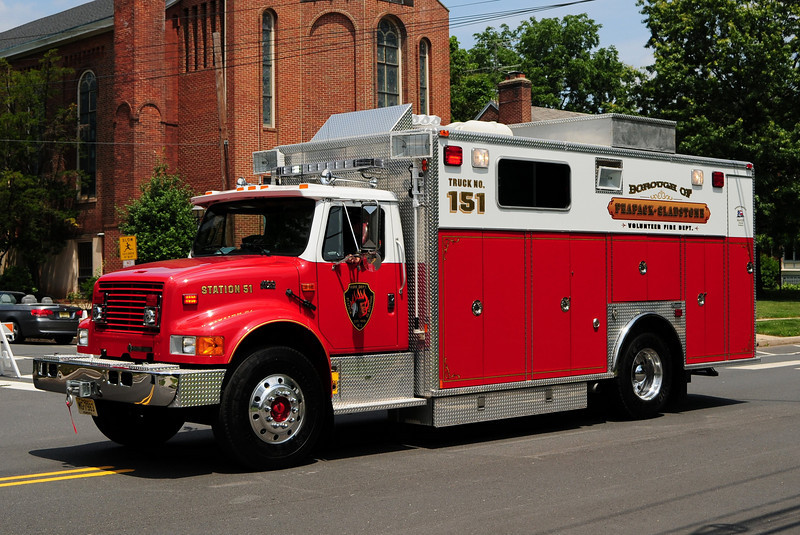 Peapack-Gladstone  Rescue 51-151 1995 International/ Marion