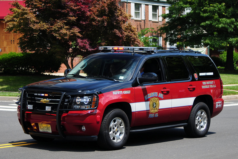 Elizabeth Av Fire Co  Dept Chief  car 26-B  2008 Chevy  Tahoe